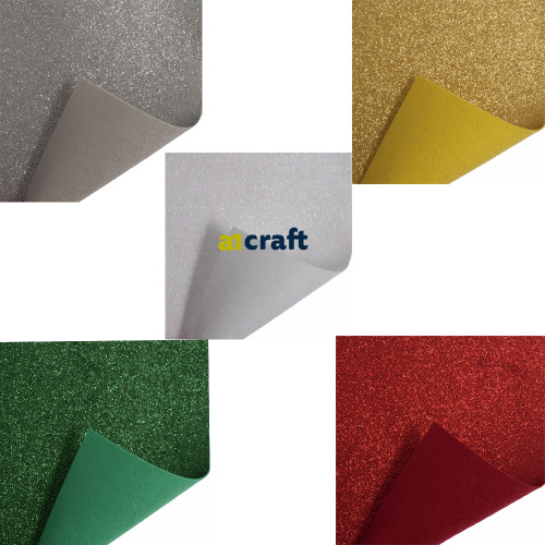Glitter Felt Roll for Crafts