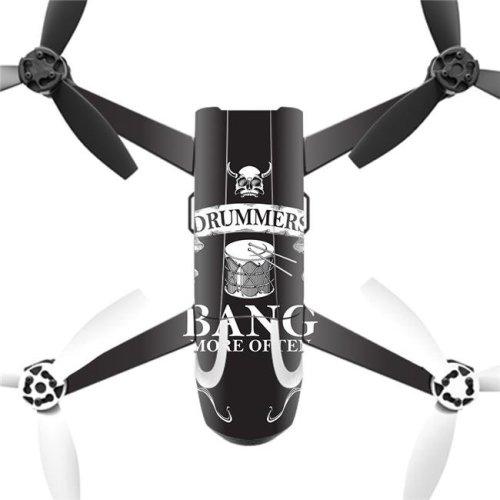 MightySkins PABEBOP2-Drummers Skin Decal Wrap for Parrot Bebop 2 - Drummers