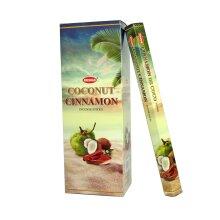 Krishan Incense - Coconut Cinnamon Fragrance Aroma 120 Sticks