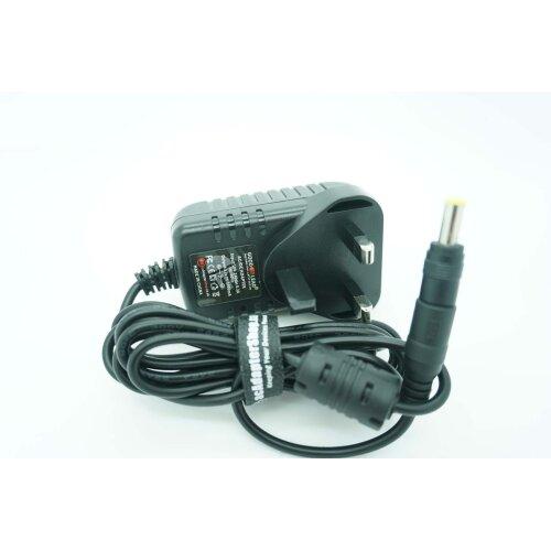 12V UK HOME POWER SUPPLY ADAPTER PLUG FOR YAMAHA DD 11 DIGITAL DRUM MACHINE