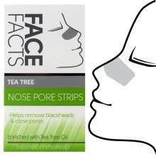 Face Facts Deep Cleansing Nose Pore Strips ~  Tea Tree