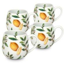 Konitz 44 7 343 2226 My Favorite Black Tea Snuggle Mugs, 4 Piece