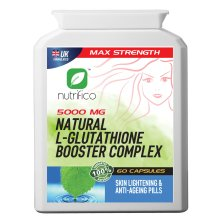 Natural L-glutathione Booster Complex 5000mg High Strength Pills
