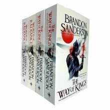 Brandon Sanderson 4 Books Set Stormlight Archive Series