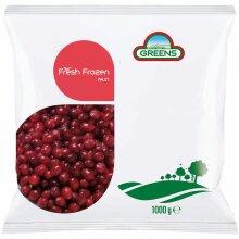 Greens Frozen Cranberries - 5x1kg