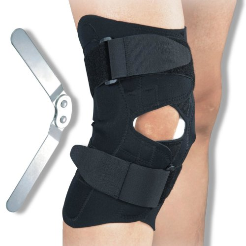 Hinged Open Fronted Design Knee Brace Support