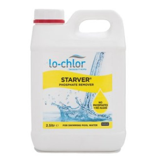 Lo-Chlor Starver Phosphate Remover - For Pool Water Treatment