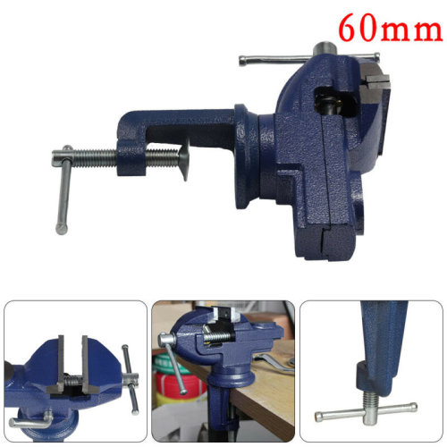 Heavy Vice Vise Swivel Base Workshop Clamp Jaw Work Bench Table