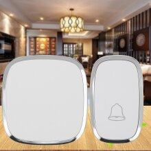 Wireless Door Bell Doorbell Waterproof Wall Plug-in Chime Remote 300M