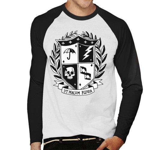 Umbrella Academy School Crest Dark Men's Baseball Long Sleeved T-Shirt