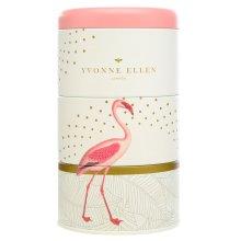 Wax Lyrical 3 Stacking Candle Tins Yvonne Ellen Design Fancy Flamingo