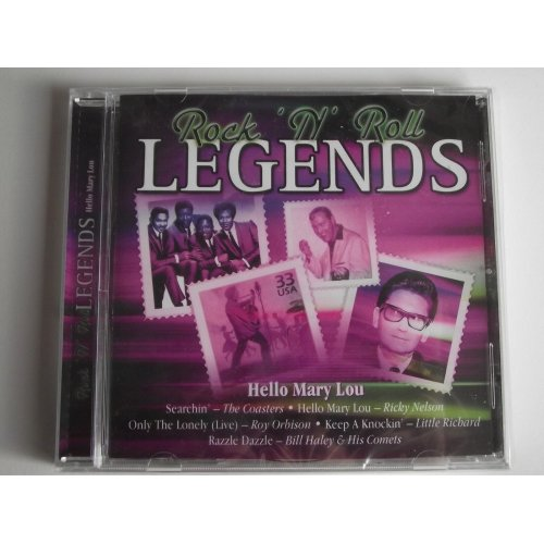 Various Artists - Rock 'n' Roll Legends. Hello Mary Lou. CD Album