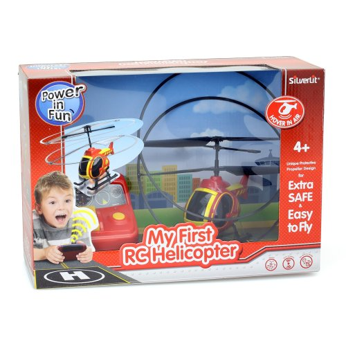 Silverlit 84703 - My first helicopter-Red
