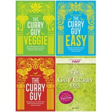 Dan Toombs The Curry Guy and Slow Cooker Spice Guy 4 Books Set