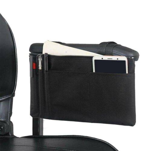 Wheelchair Armrest Wallet Side Bag Pack Mobility Scooter Armrest Stroage Cases