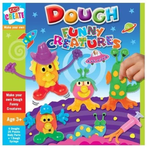 Make Your Own Dough Funny Creatures