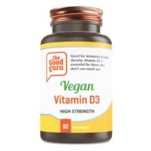 Vegan Vitamin D3 Supplements, No Added Sugar, Gluten-free, NON-GMO