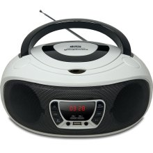 Grouptronics GTCD-501 White CD Player With Radio, USB, MP3 & AUX IN