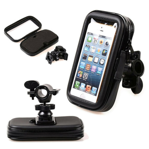 (5.5'') Bicycle Bike Phone Case Mount Holder Cover Bag Waterproof For All Phones