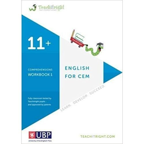 Verbal Ability For Cem 11+: Comprehensions Workbook