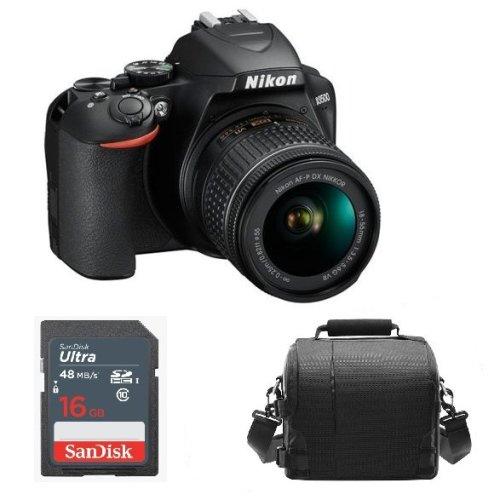 NIKON D3500 KIT AF-P 18-55mm F3.5-5.6G VR + Camera Bag + 16GB SD card