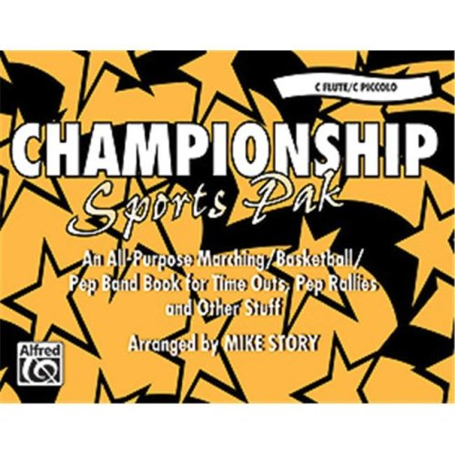 Alfred 00-MBF9802 Championship Sports Pak - Music Book