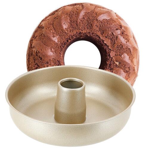 Royalford Non-Stick Savarin Mould / Ring Cake Tin Savarin Baking Tin