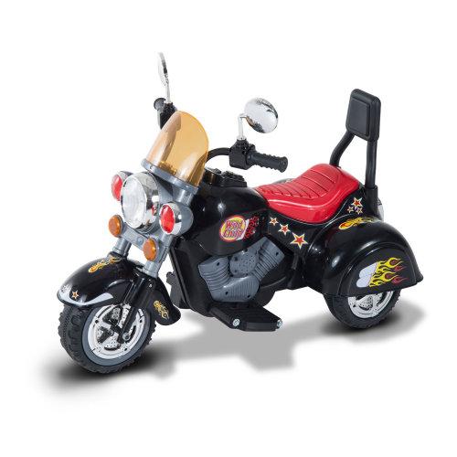 HOMCOM Electric Kids Ride On Toy Child Motorbike w/ 3 Wheels Kid Play