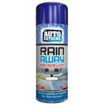 Rain away rain repellent spray