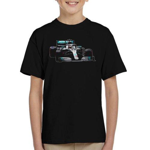 Motorsport Images Lewis Hamilton AMG F1 W10 Monaco GP Kid's T-Shirt