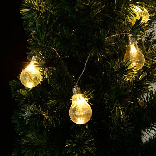 30-LED Bulbs Fairy String Light Battery Powered