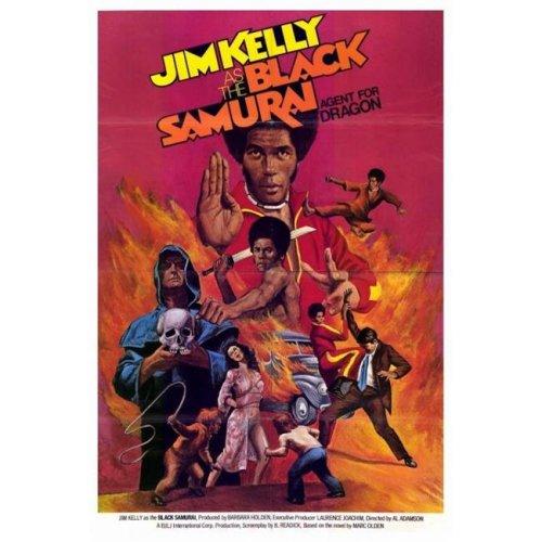 Black Samurai Movie Poster - 27 x 40 in.