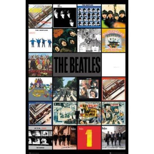 The Beatles Album Poster