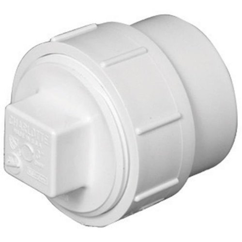 PVC00105X1200HA PVC Clean-Out Adapter, 4 in.