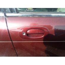 Jaguar Xj8 Saloon 1997-1999 Door Handle Exterior (front Driver Side) Red Cgh - Used
