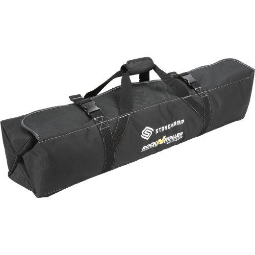 MultiCart StandWrap 4-Pocket Roll Up Accessory Bag (Black, Large)