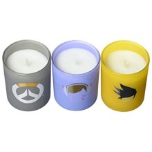Overwatch Glass Votive Candle Pack by Insight Editions