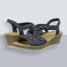 Rieker Women's Frühjahr/Sommer Closed Toe Sandals 9.5 UK
