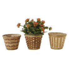 Party Goods 72938 4.5 in. Bamboo Pot Cover