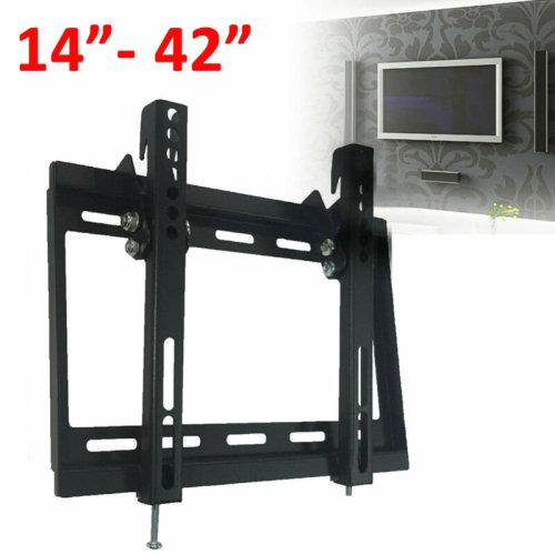 TV Wall Bracket Mount Tilt For 14 20 25 30 32 38 40 42 Inches 3D
