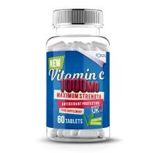 Forza Vitamin C Tablets - Maximum Strength Vitamin C 1000mg - Antioxidant Protection Vitamin C Capsules - 60 Tablets