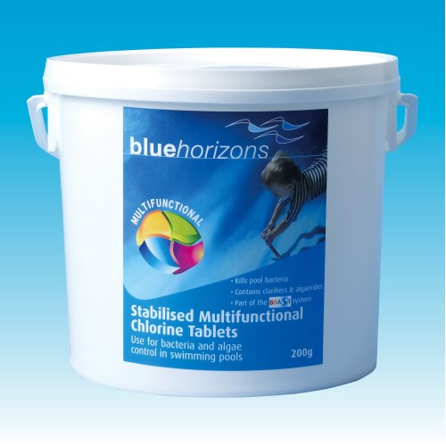 Blue Horizons Multifunctional 20g Chlorine tablets. 5kg