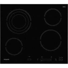 Hotpoint HR607BH 58cm 4 Burners Ceramic Hob Touch Control Black
