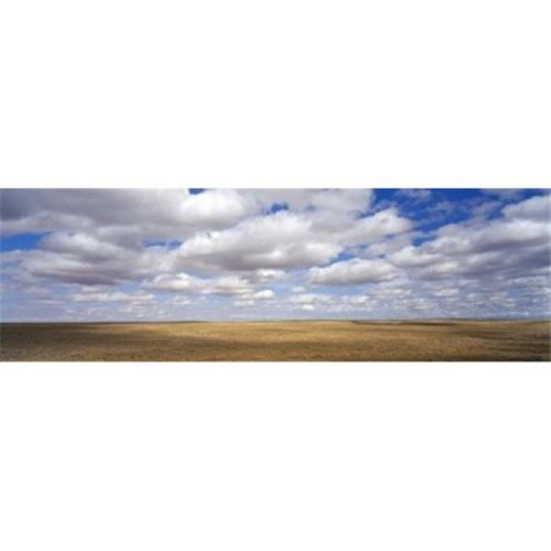 Clouds over open rangeland  Texas  USA Poster Print by  - 36 x 12