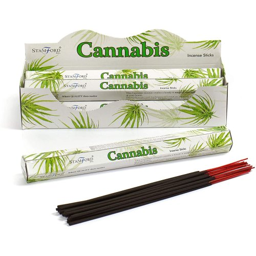 Stamford Cannabis Incense, 20 Sticks x 6 Packs