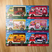 6PCS Animal Crossing New Horizons Saniro Cards