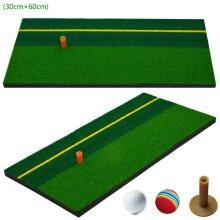 Golf Mat Golf Training Aids Grass Practicing Backyard Hitting Mat