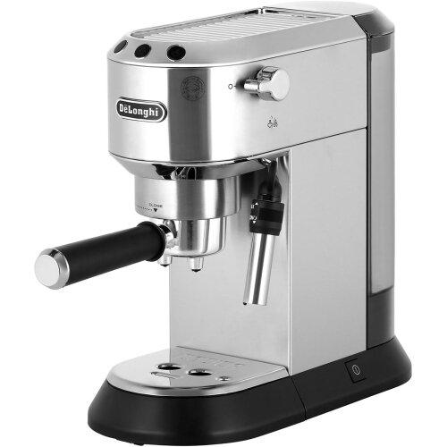 De'Longhi Dedica Traditional Pump EC685.M Espresso Coffee Machine - Silver