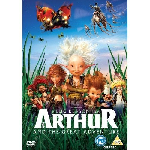 Arthur And The Great Adventure DVD [2011]