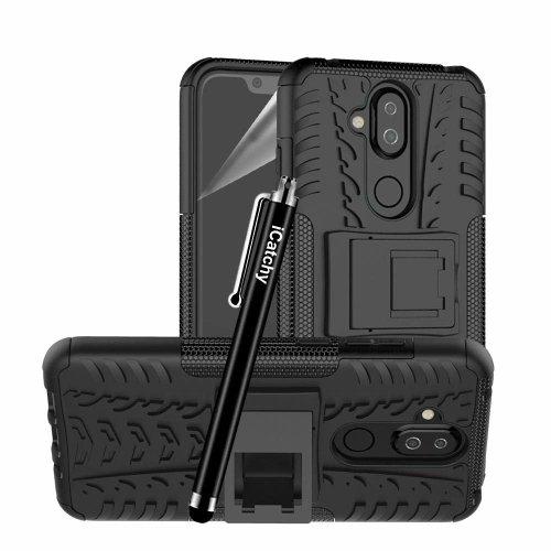 For Nokia 8.1 Shockproof Hybrid Hard Phone Case